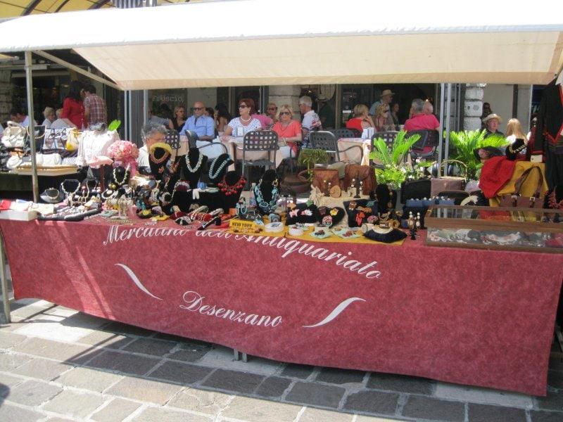 Antiekmarkten en rommelmarkten bij het Gardameer 1