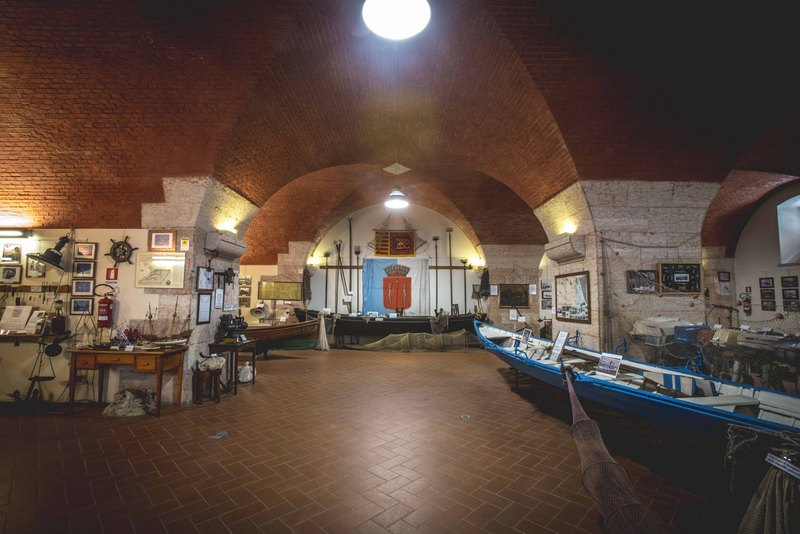 Museo della Pesca - visserijmuseum in Peschiera 1