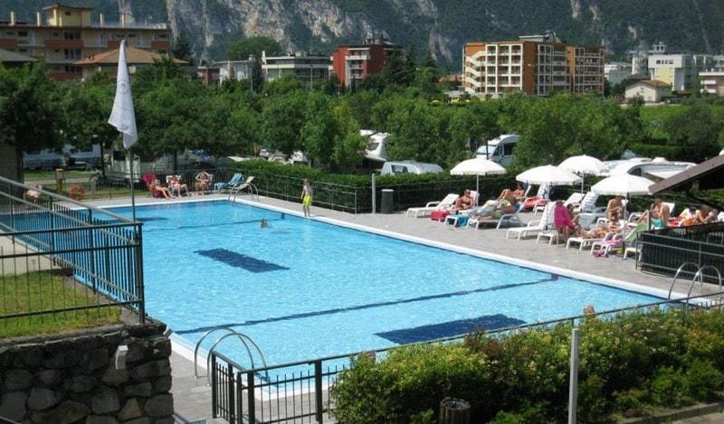 Campings bij Riva del Garda bij het Gardameer 2
