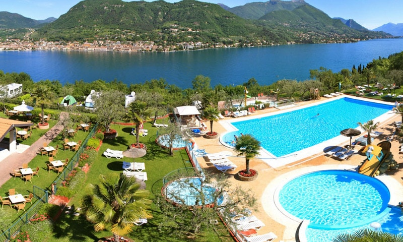 Campings bij San Felice del Benaco aan het Gardameer 3