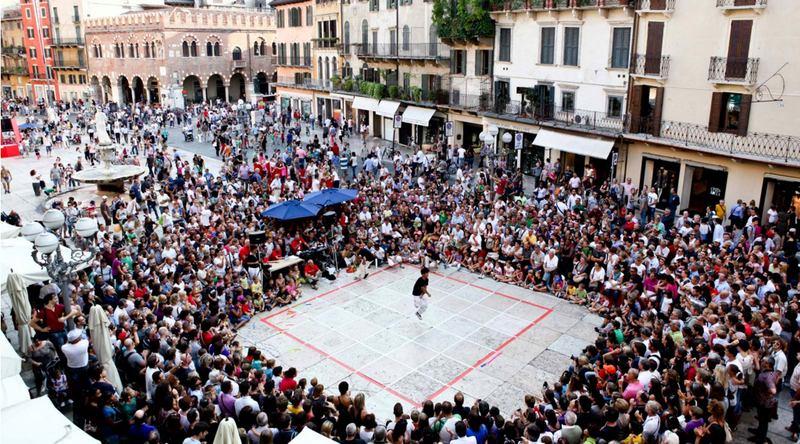 Internationaal Festival voor Straatspelen in Verona 1