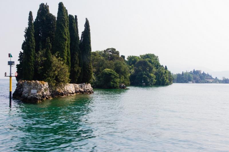 Isola del Garda, pareltje in het Gardameer 1