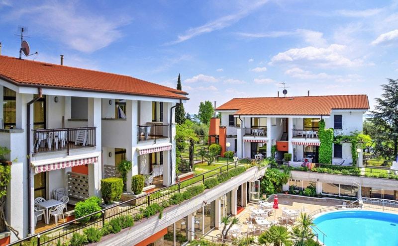 Vakantiepark Residence Riai bij Moniga del Garda 1