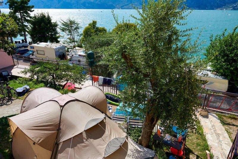 Campings bij Malcesine aan het Gardameer 3