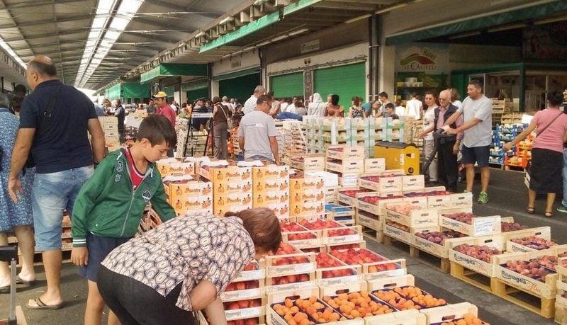 Markten in Bergamo 1