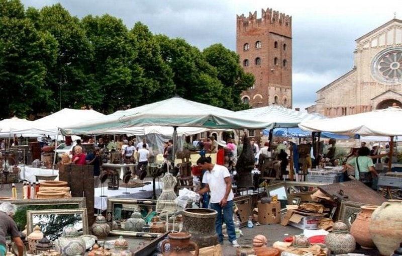 Markten in Verona 1