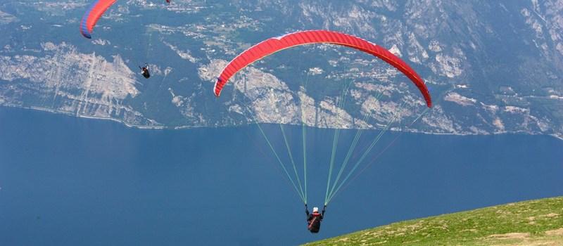 Paragliding bij het Gardameer 2