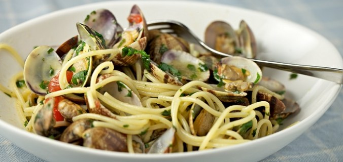 Spaghetti vongole 1