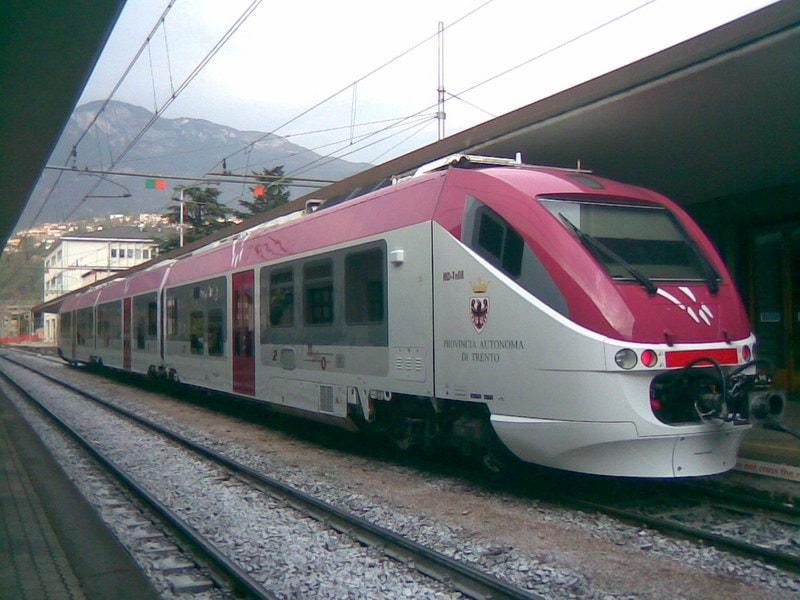 Met de trein bij het Gardameer 3
