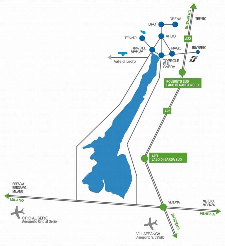 Met het vliegtuig naar het Gardameer 3