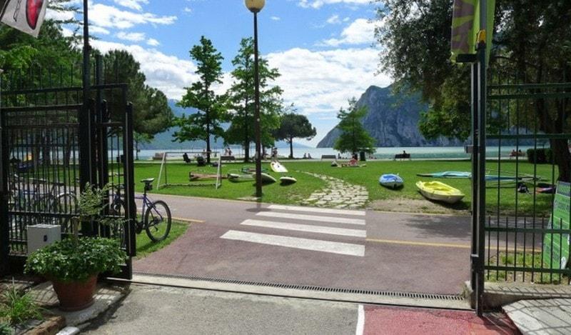 Campings bij Riva del Garda bij het Gardameer 3