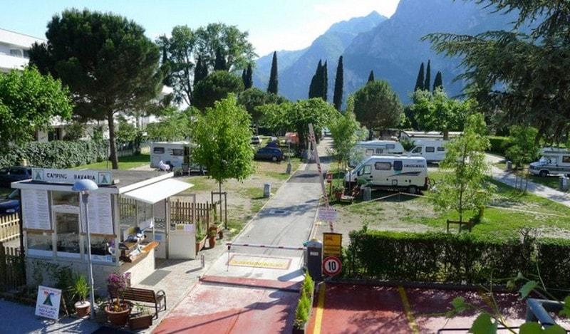 Campings bij Riva del Garda bij het Gardameer 1
