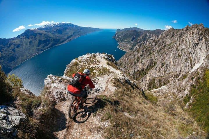 Mountainbiken bij het Gardameer 1