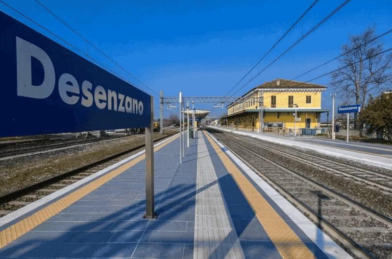 Met de trein bij het Gardameer 2