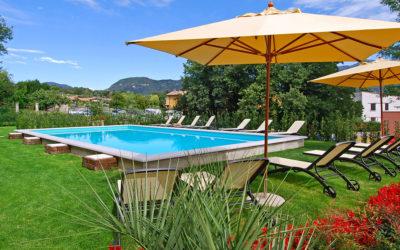Kindvriendelijke villa met zwembad bij het Gardameer
