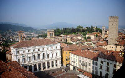 Bergamo: shoppen en historie
