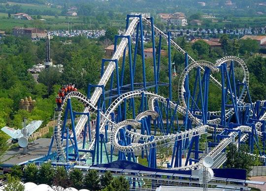 Gardaland: het grootste attractiepark van Italië