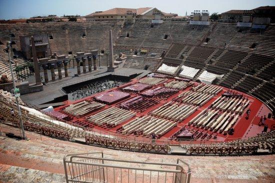 Opera in de Arena van Verona