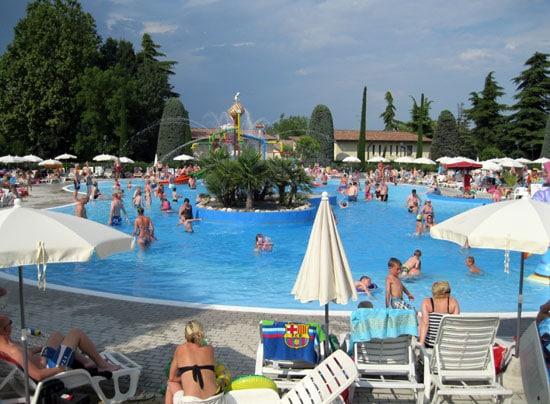 Camping Bella Italia bij Peschiera del Garda