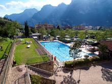 Campings bij Riva del Garda bij het Gardameer