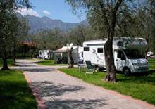 Campings bij Malcesine aan het Gardameer