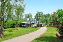 Campings bij Torri del Benaco aan het Gardameer