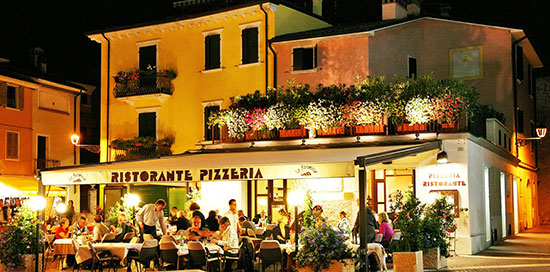 Restaurants in Bardolino en Cisano