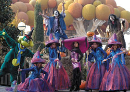 Halloween bij het Gardameer