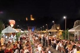 Eetfestijn met liefdespasta in Borghetto