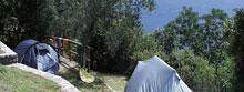 Camping Paradiso bij Gargnano aan het Gardameer