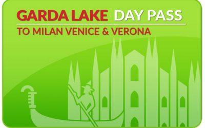 Gardameer Dagpas naar Milaan, Venetië of Verona