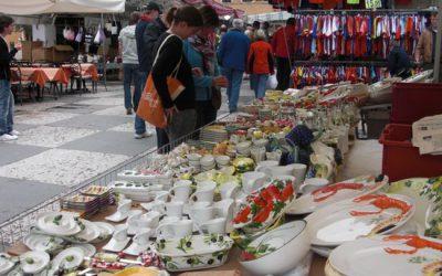 Markten bij het Gardameer op woensdag