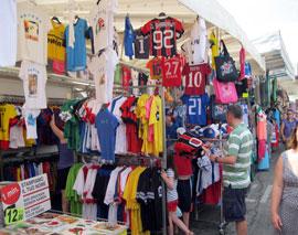 Naar de markt aan het Gardameer