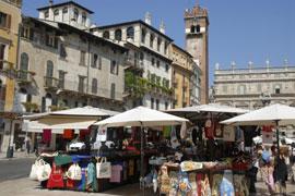 Markten in Verona