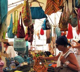 Markten bij het Gardameer op dinsdag