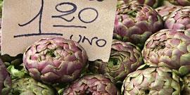 Markten bij het Gardameer op vrijdag