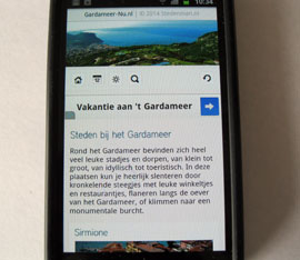 Gardameer-Nu ook op je mobiel!