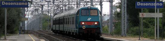 Met de trein naar het Gardameer