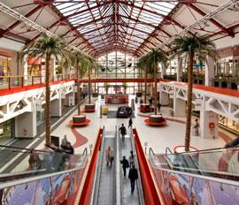 Winkelcentrum Freccia Rosso