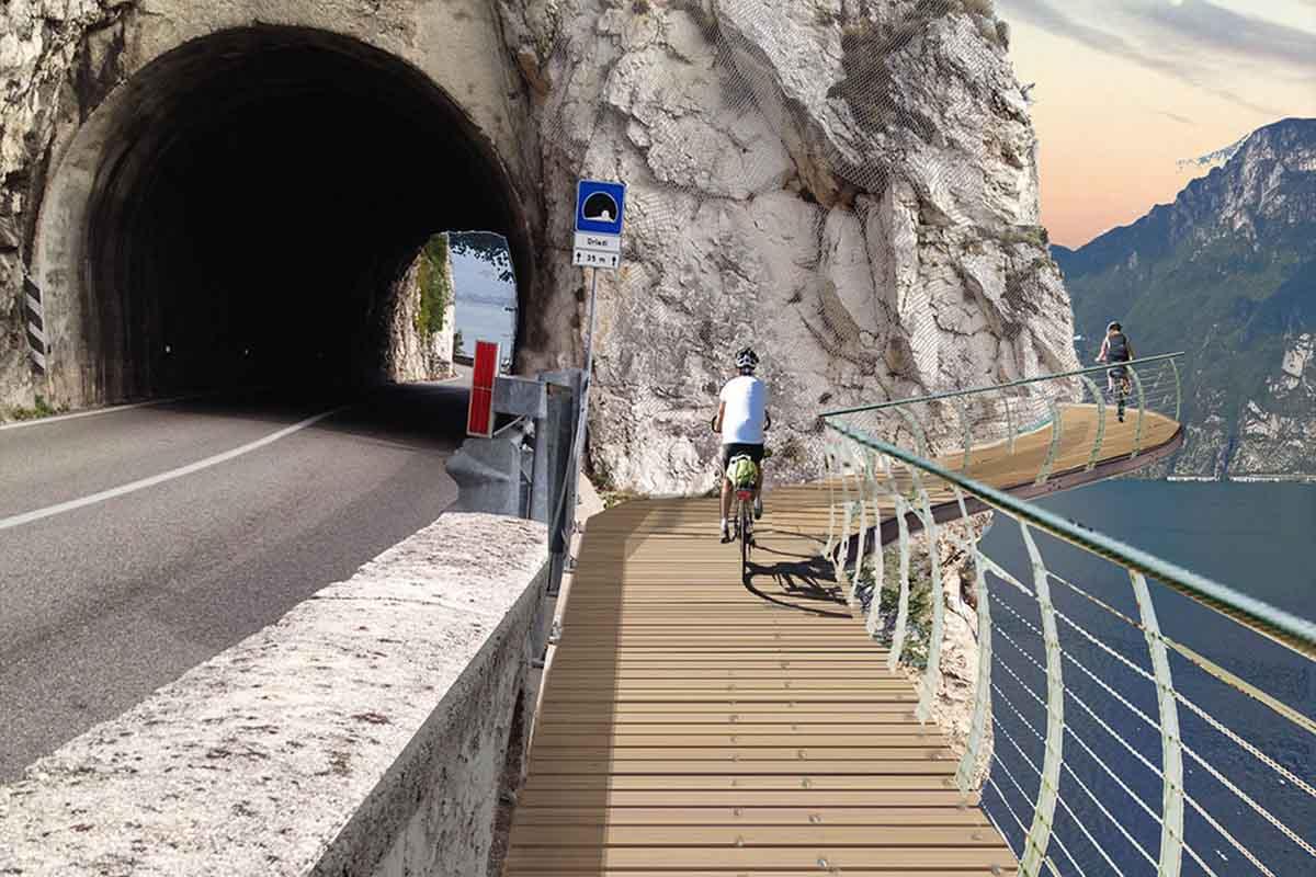 Spectaculair fietspad rond het Gardameer 2