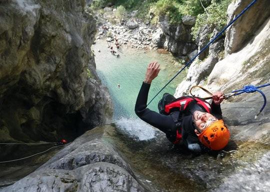 Korting op canyoning-tours 2