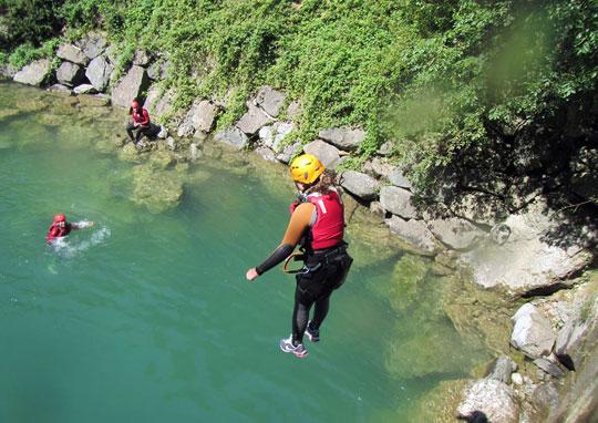 Korting op canyoning-tours 3