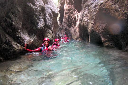 Korting op canyoning-tours 5