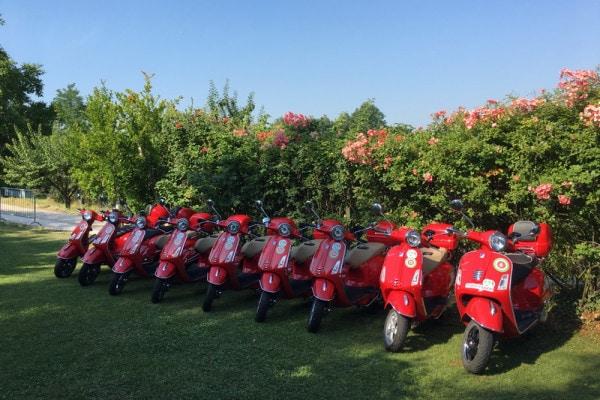Dagtocht met een Vespa-scooter rond het Gardameer