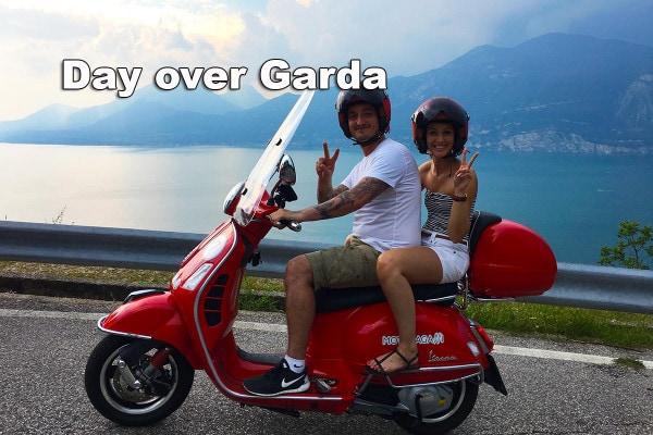 Dagtocht met een Vespa-scooter rond het Gardameer 5